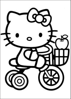 Free Printable Hello Kitty Coloring Pages For Kids In 2018