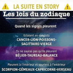 lesloisduzodiaque ✨✨ Astrology Zodiac, Astrology Signs, Zodiac Signs, Aquarius, Gemini, Positive And Negative, Love Life, Constellations, Slogan