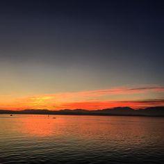 Amanece en la bahía de #Santander #cantabria #invierno