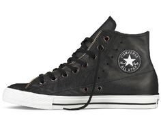 "Converse ""Moto Leather Jacket"" Chuck Taylor All Star Sneakers Converse  Chuck Taylor Leather 8eadce1a021a4"