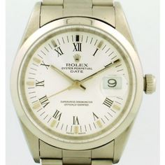Rolex 2000 Oyster Perpetual Automatic Stainless Steel Unisex Watch,  Ref. 15200