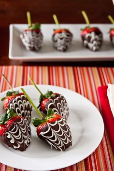 Chocolate Covered Strawberries by foodiebride. Follow the link to make them yourself(: