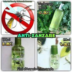 Profumo naturale che allontana le zanzare