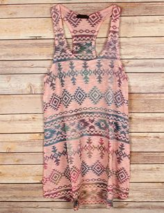 Pecos #Tribal Tank Top, $28.75 (http://www.theluckycowgirlshop.com/pecos-tribal-tank-