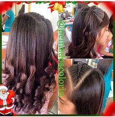 ==YA SE ACERCA LA NAVIDAD== Recomendamos este peinado para las fiestas de fin de año Encuentranos >> http://bit.ly/mapaColorin