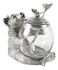 A Bear Honey Pot...too cute! I love it!