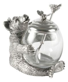 A Bear Honey Pot...too cute! I love it!