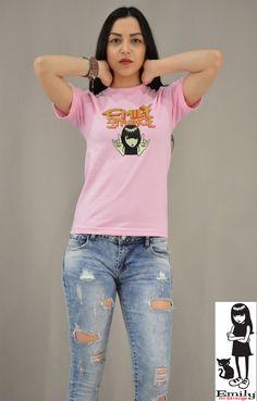 Γυναικείο t-shirt Emily Strange Emily Strange, T Shirt, Tops, Women, Fashion, Supreme T Shirt, Moda, Tee Shirt, Fashion Styles