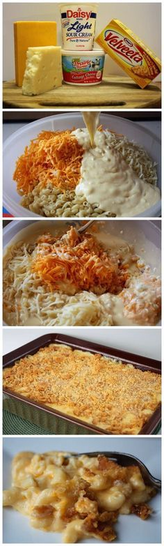 Seriously, the best Homemade Macaroni and Cheese I've ever made!