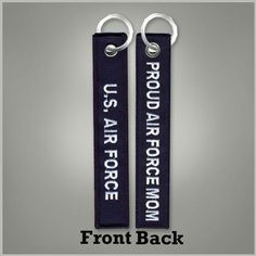 Air Force Proud Mom Key Chain | Armed Forces Gear