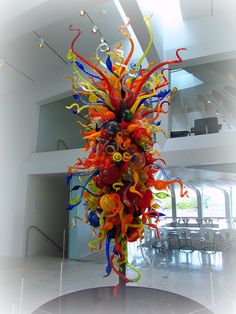 Dale Chihuly Glass Art 092911 by Little_Karen, via Flickr