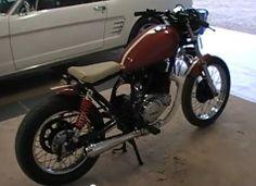Sr 250 red bobber