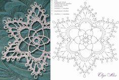 Crochet Snowflake Pattern, Christmas Crochet Patterns, Crochet Snowflakes, Crochet Christmas Decorations, Xmas Decorations, Diagram Chart, Chrochet, Gourds, Doilies