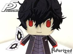 Created by my friend, the Philippine designer and modeler Paulo , from Paperized website , this is the paper toy version of Akira Kurusu ,...