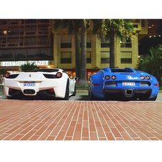 458 Mansory vs. Bugatti #carsighter1 #instagood #cute #photooftheday #follow #picoftheday #like #beautiful #instadaily #followme #tagsforlikes #instamood #bestoftheday #instalike #amazing #carporn #cargramm #supercars #carspotter #spotter#instafamous #supercars #dreamcars #cars #arabcars #follow4follow via @jespervdn