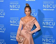 AGE-DEFYING JENNIFER LOPEZ STUNS AT AN NBC EVENT IN NEW YORK CITY