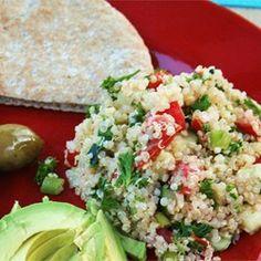 Quinoa Tabbouleh Allrecipes.com