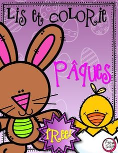 FREE! FRENCH Colour By Number PÂQUES! ! A great addition to your language centers. Happy Easter!