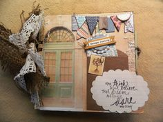 Escape Reality Journaling Scrapbook by JandKKreations on Etsy