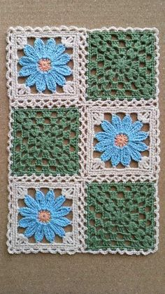 Pin to make motif quilt - Crochet Clothing 2019 - 2020 Crochet Quilt, Crochet Blocks, Crochet Motifs, Crochet Afghans, Crochet Home, Crochet Crafts, Crochet Stitches, Crochet Projects, Crochet Baby