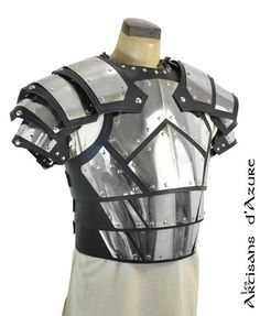 Conqueror's armor with shoulder by ArtisansdAzure on Etsy, $900.00