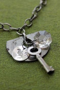 Buffalo NY Necklace  Sponge Candy handmade necklace by 716Buffalos, $37.16