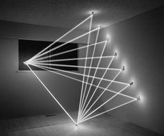Artist Bounces Sunbeams Around A Room, Creates Geometric Light Sculptures - DesignTAXI.com