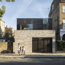 Adolphus Road, LondonWinner of Evening Standard New Homes Award London Architecture, Architecture Details, Interior Architecture, Facade Design, House Design, Garage Extension, Brick Extension, Mews House, Brick Detail