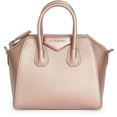 96710f0826b Givenchy Antigona Mini Leather Satchel (€1.570) ❤ liked on Polyvore  featuring bags,