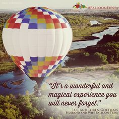 For more information about the Albuquerque International Balloon Fiesta, visit www.balloonfiesta.com