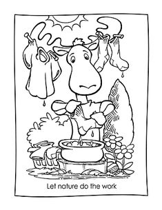 mother earth coloring pages-#21