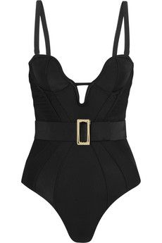 Agent Provocateur Marnee belted underwired swimsuit | THE OUTNET