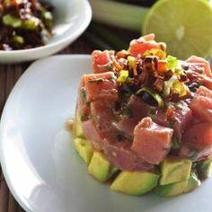 Esta receta es una deliciosa ensalada de atun fresco con salsa de soya y poro. Disfruta de este delicioso platillo con toda tu familia. No solo lo van a disfrutar por su rico sabor si no que tambien no van a dejar la dieta por disfrutar de sus alimentos.