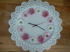 crochet clocks - Google Search