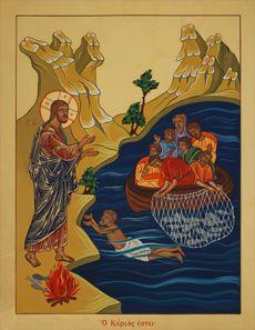A nuoto verso il Signore (Gv 21, 1-19) | La Bella Notizia