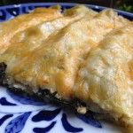 Spinach Enchiladas - try them for your next meatless meal!