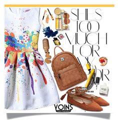 """Pretty Yoins~♥"" by av-anul ❤ liked on Polyvore featuring Rika, Dolce&Gabbana, Garance Doré, yoins, yoinscollection and avanul"