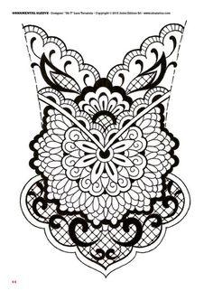 Tattoo flash book №5 - mandalas & ornamental   66 photos   VK