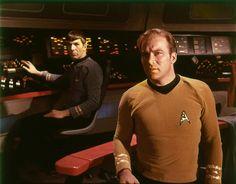 On the Bridge with dramatic lighting (called Captain Kirk lighting)