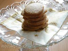 Az én édes konyhám: Gyömbéres zabpelyhes keksz