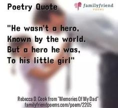 Dear Dad, You were mine! Poem About Dad Being a Hero, Memories Of My Dad, Father Poems Miss My Daddy, My Dad My Hero, I Love My Dad, Daddy Daughter Quotes, Daddys Girl Quotes, Father Poems From Daughter, Daddys Girl Tattoo, Daddy Daughter Tattoos, Daddy Tattoos