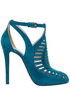 Elie Saab 2013 Fall-Winter teal heel