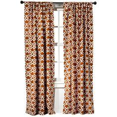 Threshold Farrah Fretwork Window Panel $17 rust target.com