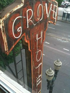 I love seeing abandoned hotels. I've always wanted to check them out.  grove hotel. portland, oregon