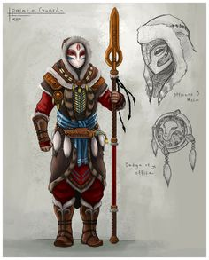 Mask Javelin Spear