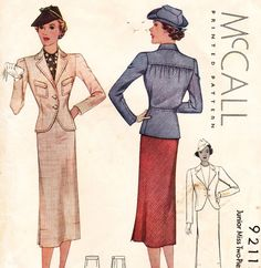 1930s McCall 9211.