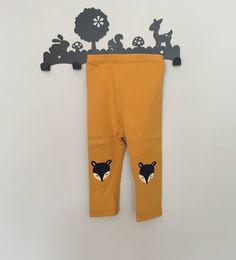 Feisty Fox pants 15  comes in sizes 0-6 6-12 12-18 #genderneutral #babypants #babyfashion #foxes #babyboy #babygirl #babylove #babyleggings #kidsfashion #toddlerfashion #mustard #cute #unisex #newborn #coolkids #babystyle #smallbusiness