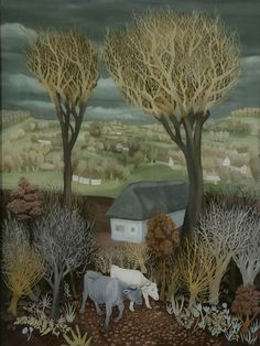Cows in the Forest 1938 Ivan Generalic