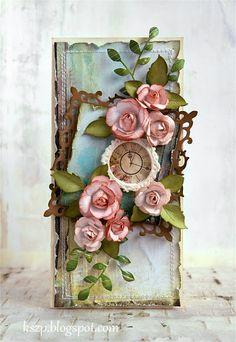 Klaudia/Kszp: Rose card