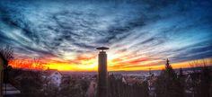 GoPro sunrise, morning, clouds